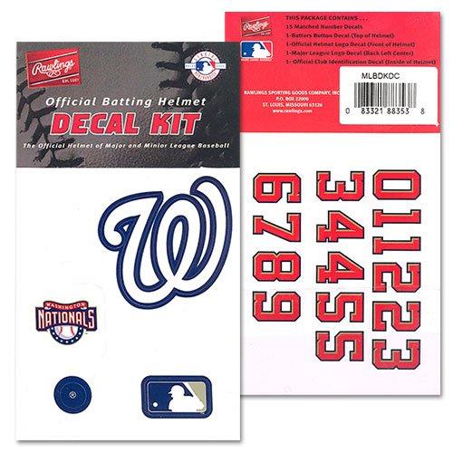 Rawlings MLB Logo Decals Nationals ()