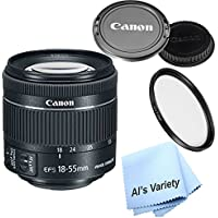Canon EF-S 18-55mm f/4-5.6 IS STM Lens (White Box) , With UV (Ultra Violet) Filter