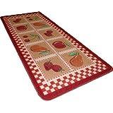 Tapis cuisine 50x120cm model rouge