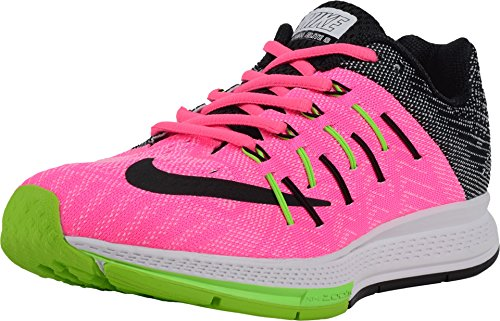 Nike Women's Air Zoom Elite 8 Pink Blast, Black, White, and Electric Green Synthetic Running Shoes 5.5 (Nike Womens Air Zoom Elite 8 Running Shoe)