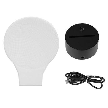 Wytino LED Night Light, acrílico 3D LED Night Light Cambio de ...
