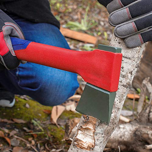 WORKPRO Camping Axe Saw Combo Kit - 14-inch Splitting Hatchet with Hand Saw Storaged in Handle, Molded Sheath Included by WORKPRO (Image #5)