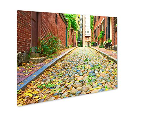 Ashley Giclee Metal Panel Print, Historic Acorn Street At Beacon