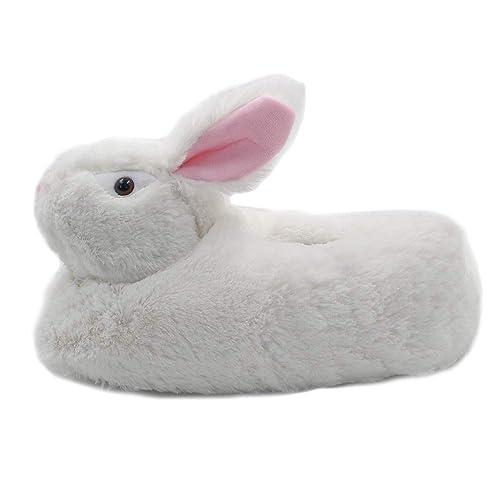 Amazon Com Millffy Classic Bunny Slippers Adult Sized Plush Animal