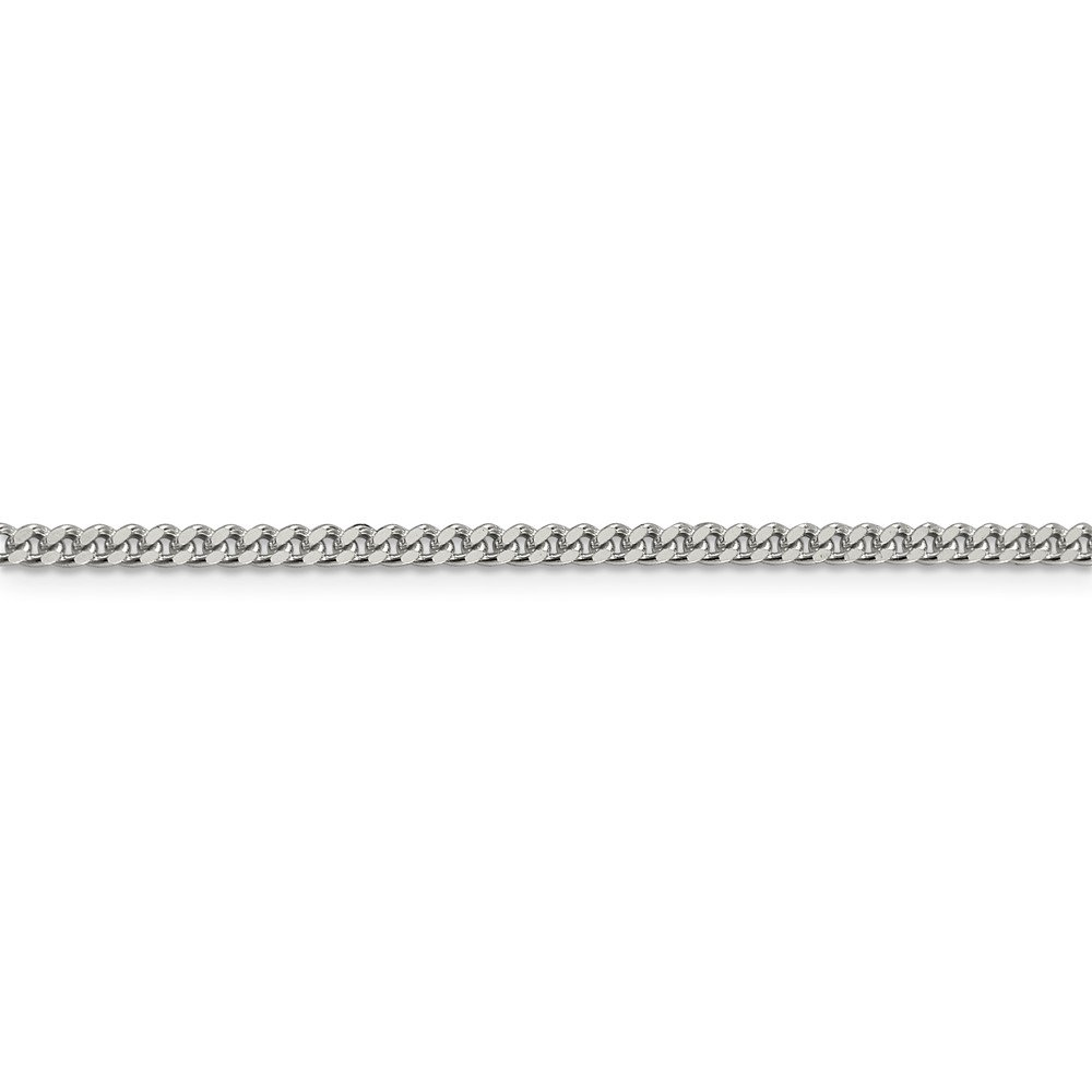 Sterling Silver Curb Chain Necklace Collection 10K Mireval 14K