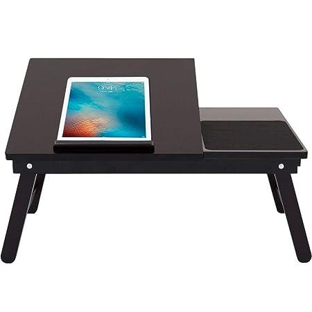 ZJ-Table d ordinateur Ordenador Escritorio Cama Escritorio ...