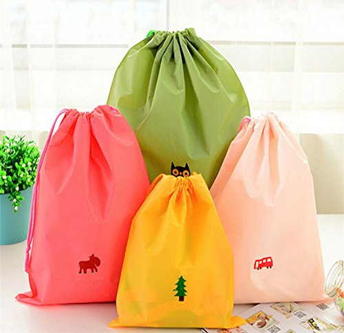 Bag Bag Travel Satchel Drawstring Hanging Bag Pouch Bag Gift Jewelry Plastic Tote Clothes Storage for PE Waterproof Bag Sundries Household 2xToruiwa A Accessories 6CXxwHqw