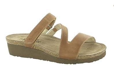 b098de32c6ef NAOT Footwear Women s Gabriela Latte Brown Lthr Sandal 35 ...
