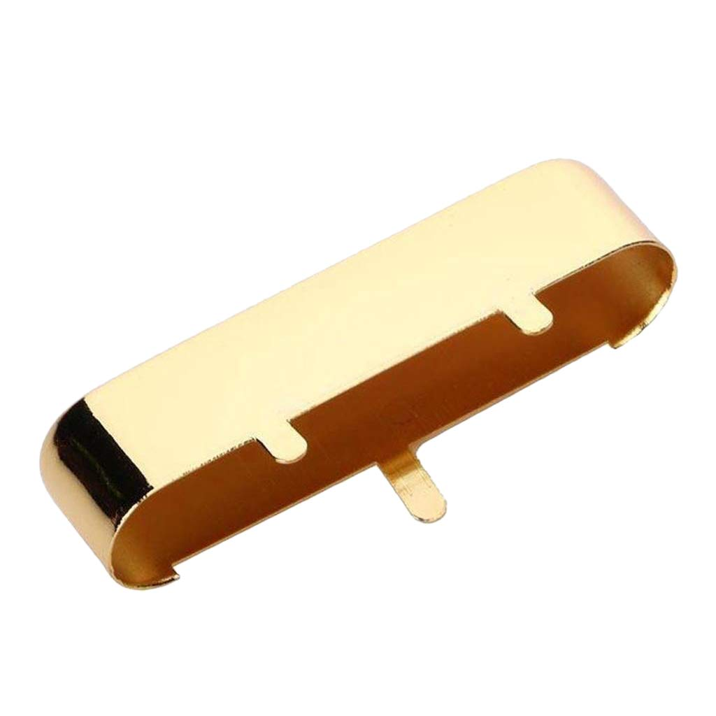 SODIAL Guitar Neck Pickup Cover For Tl Tele Telecaster Electric Guitar Parts,Gold