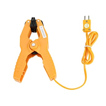 1*HT-05 Thermocouple Type K Than Clamping Pliers Adapter Temperature Plier Clamp