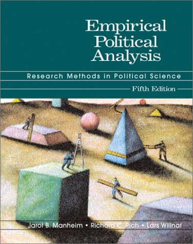 Empirical Political Analysis: Research Methods in Political Science (5th Edition)