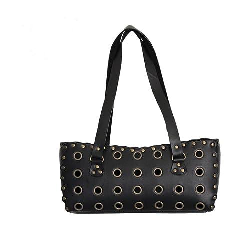 Rock Daddy - Cartera de mano con asa para mujer Medium, color Negro, talla Medium: Amazon.es: Zapatos y complementos