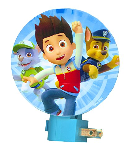 PAW Patrol Night Light ~ Rubble, Marshall, Skye, Chase (Ryder & Chase)