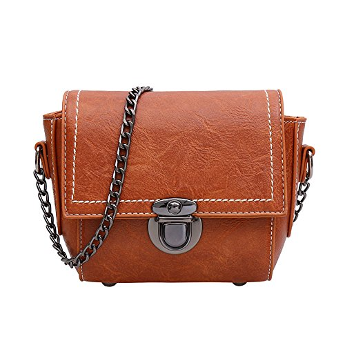 Hombro Mujer Bolsa Solo Meaeo Brown Pequeña Bolso Brown De De De Nueva Bolso Plaza Bolso Sesgados x1OOnq