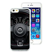 iPhone 6 Case,Volkswagen Logo 1 White Case for iPhone 6S 4.7 Inches,TPU Cover