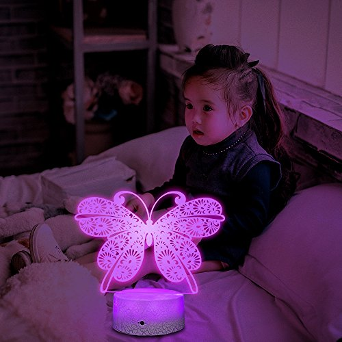 Led 3D Butterfly Night Lights in US - 5