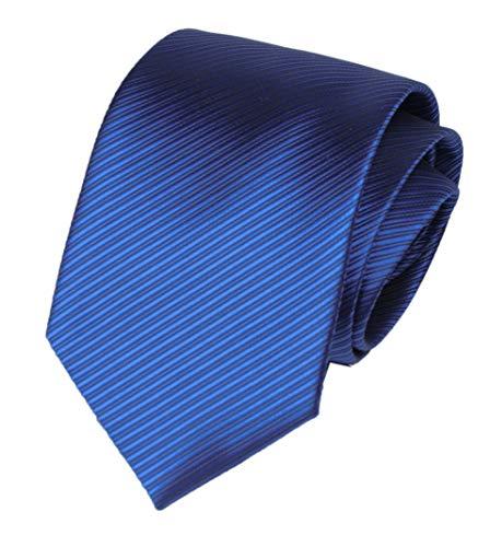 (Mens Kid Royal Blue Silk Self Cravat Tie Ascot Beautiful Engagement Slim Necktie)