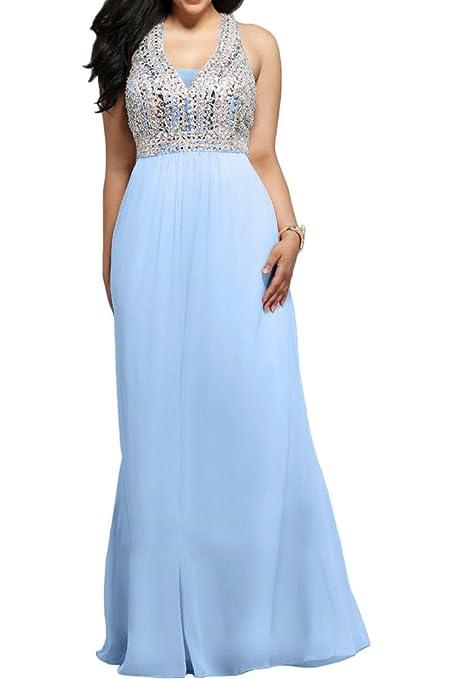 La_mia Braut Damen Burgundy Chiffon Uebergroesse Abendkleider  Brautmutterkleider Partykleider Lang: Amazon.de: Bekleidung