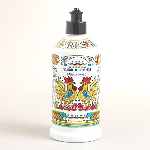 Home & Body Co. Meyer Orange Blossom Deruta Style Dish Soap 17 Fl.Oz.