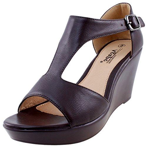 Agape PAMELA-43 Lightweight Comfort Sandal Wedge