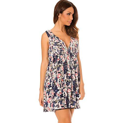 Miss Wear Line - Vestido - cuello hálter - cuello en V - para mujer