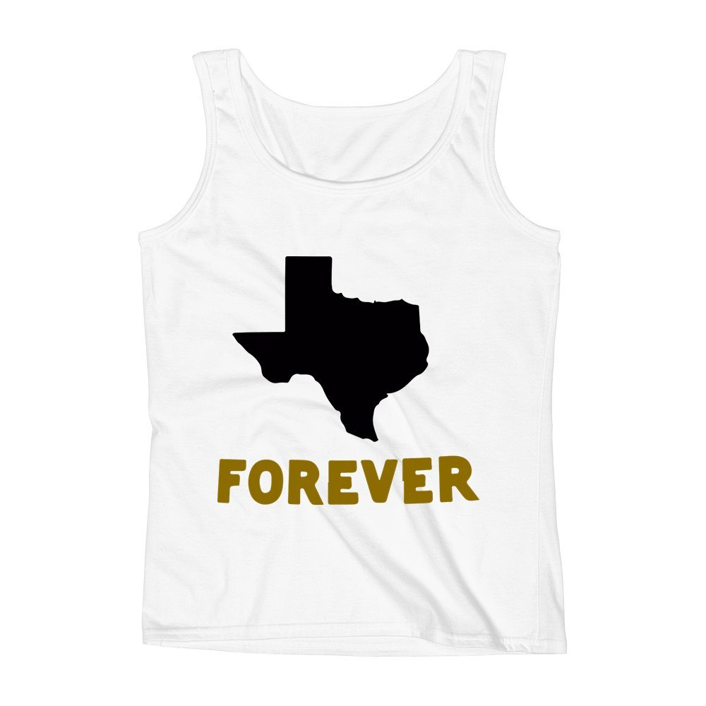 Mad Over Shirts Texas Forever Hometown Proud Unisex Premium Tank Top