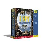 I Spy Treasure Hunt w/ I Spy Book and Mini CD