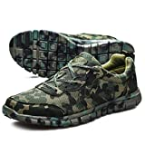 Nidengbao Ultra-light Breathable Camouflage Running Shoes More Prestige Training Shoes Size36-46
