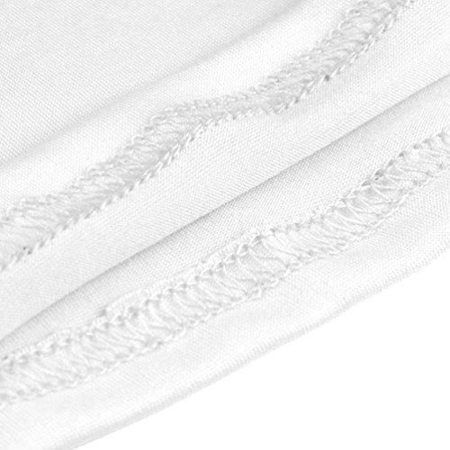 senza Formazione Bianca Colore Estate Maniche Donne Sexy Canotta Tank shirt Sport solido Palestra spalline Camicetta Senza Hiroo Maglietta Corsa Gilet top w0zR4qUxq