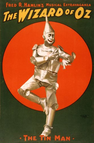 [Musical Extravaganza the Wizard of Oz the Tin Man Theater Show Playbill 11