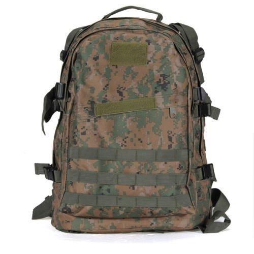 SODIAL ( R ) 40l 3dアウトドアRucksacks Tacticalバックパックキャンプハイキングトレッキングスポーツバッグジャングルデジタル   B01MTJ2AD1
