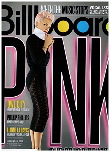 Billboard Magazine - August 25, 2012 - Pink (The Truth About Love) l Taylor Swift l Owl City - Pink 2012 Owl