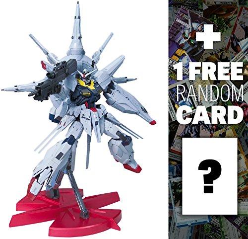 Price comparison product image ZGMF-X13A Providence Gundam [G.U.N.D.A.M. Premium Edition]: Master Grade Gundam Seed 1 / 100 Model Kit + 1 FREE Official Japanese Gundam Trading Card Bundle (MG)