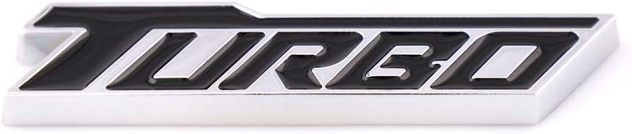 Red New Metal Turbo T Car Emblem Badge Fit For GM Chevrolet Malibu Fender Trunk Nameplate Decoration