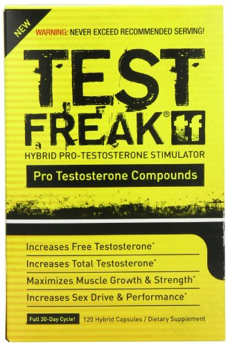 PharmaFreak test Freak testostérone Stimulator, 120 comte