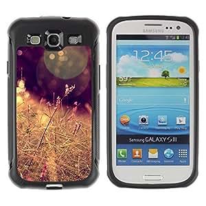 Suave TPU GEL Carcasa Funda Silicona Blando Estuche Caso de protección (para) Samsung Galaxy S3 III I9300 / CECELL Phone case / / Sun Field Hay Brown Warm /