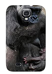 Design High Impact Dirt/shock Proof Case Cover For Galaxy S4 (animal Gorilla)