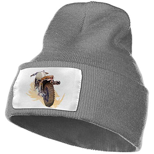 Triumph Motorcycles Unisex Knit Hat Cap Soft Warm Winter Hat Beanie Skull Caps Winter Gift Deep Heather One Size (Triumph Heather)