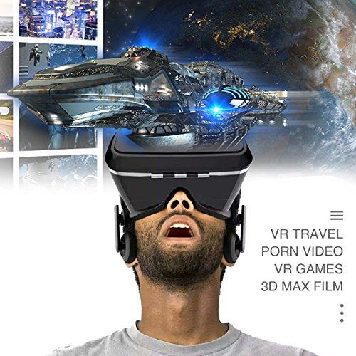 56e0fea6bfc8 Kaotoer 3D VR Glasses VR Headset Movie Visor 3D Vr Virtual Reality Glasses  Innovative Design Fit