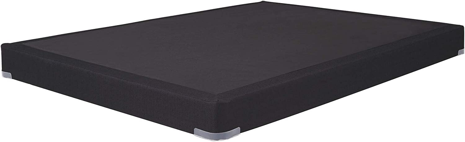 Signature Design by Ashley Low Profile Bed -Mattress Conventional, Full, Black
