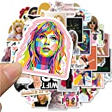 Singer Taylor Swift Stickers for Waterbottle and