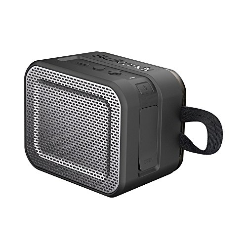 Skullcandy (SCS7PCW-J582) Barricade Bluetooth Wireless Portable Speaker, Waterproof and Buoyant, Impact Resistant, 8-Hour Battery Life and 33 Foot Wireless Range with Microphone, Black