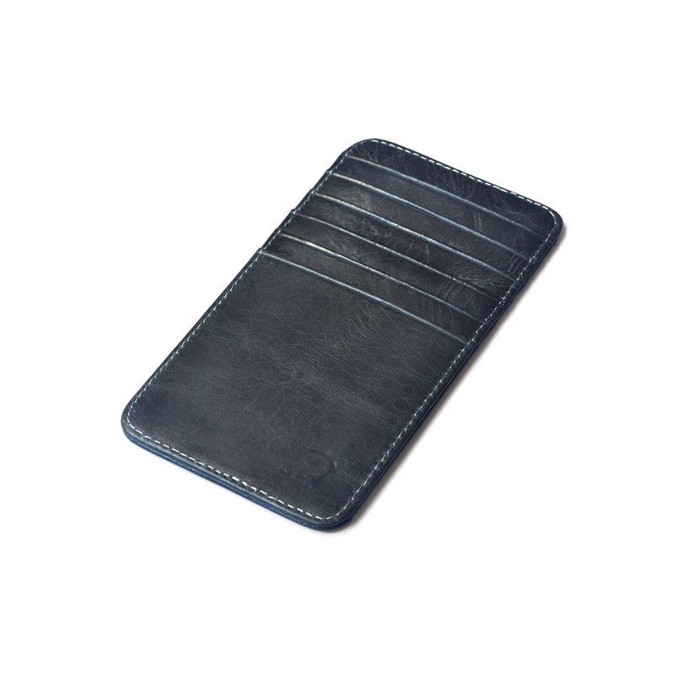Leather Credit Card Wallet RFID Blocking Leather Credit Card wallet by Caillu 100% Handmade.