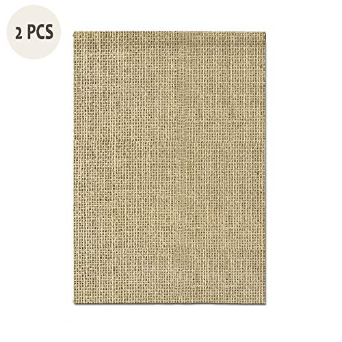 DIY Blank Burlap Garden Flag Lawn Yard Outdoor Happy July 4Th Banner for New Home Gift Housewarming Outdoor Summer Welcome Yard Decor One-Sided 18
