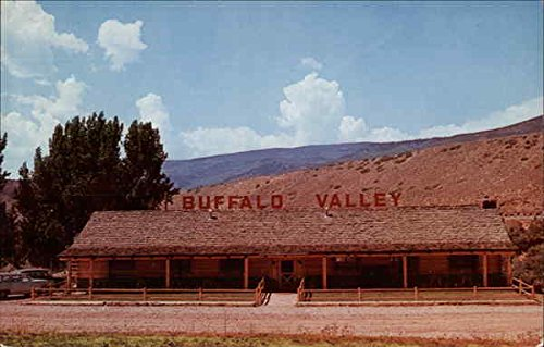 Buffalo Valley Inn Glenwood Springs, Colorado Original Vintage - Valley Glenwood