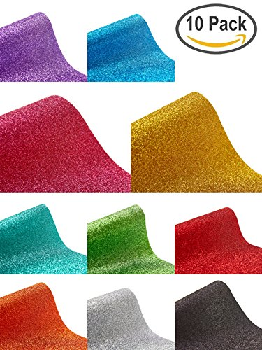 absolute-art-glitter-heat-transfer-vinyl-htv-10x-glitter-vinyl-sheets-10-x-10-assorted-color-bundles