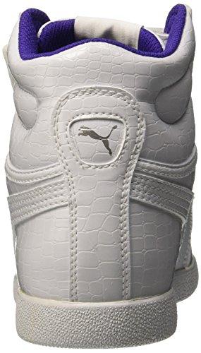 Puma V Ikaz Mid Serpent Ps Baskets Mode Blanc/Blanc-13