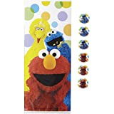 Wilton 1912-3470 16 Count Sesame Street Treat Bags, Multicolor
