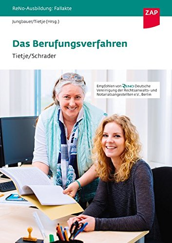 Fallakte Berufungsverfahren (ReNo-Ausbildung: Fallakten) Gebundenes Buch – 18. Oktober 2017 Sabine Jungbauer Ronja Tietje Viviane Schrader 3896559087
