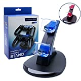Best Station For Sonies - PS4 Controller Charger Charging Station, U-toe Dual USB Review